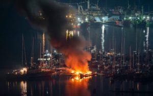 Yacht Insurance-fire